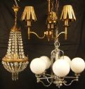 Vintage Chandeliers : By Price